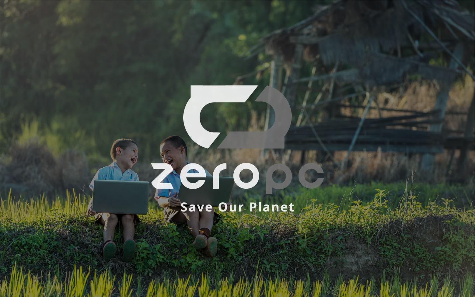 写真:環境負荷がもっとも少ないパソコン、ZEROPC