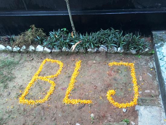 バングラデシュ工場お花BLJ