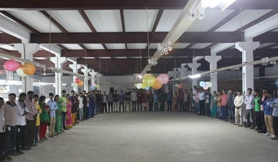バングラデシュ革工場