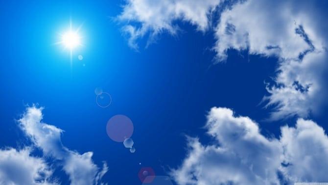 雲の上はいつも晴れ。」