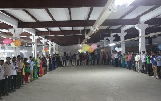 バングラデシュの革工場
