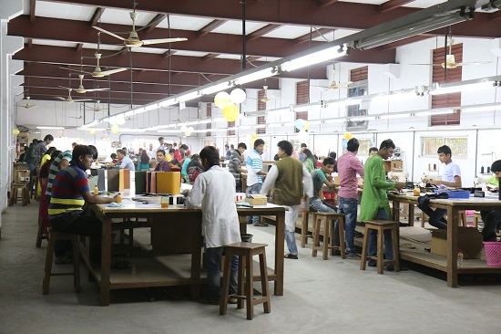 バングラデシュ自社工場