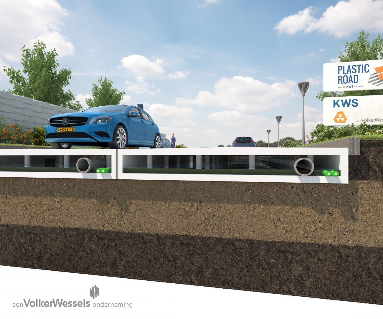 プラスチックの道路が、今後の道路の中心素材になる日は来るのでしょうか。
