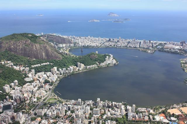 ブラジルのリオデジャネイロ市街