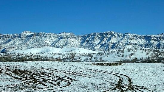 クルドの雪景色