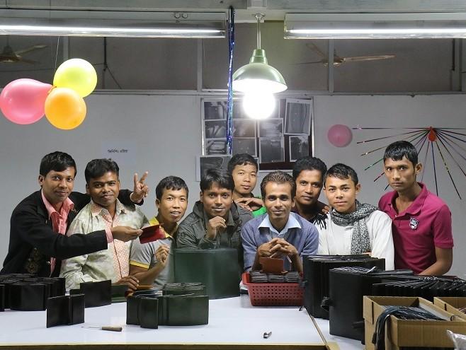 バングラデシュ・工場