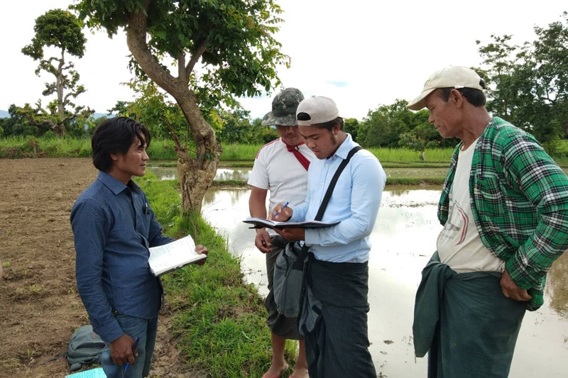 ミャンマーの貧困農家の可能性を広げる