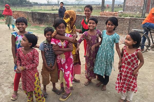 バングラデシュの子ども達